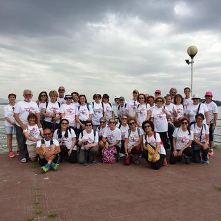 """Camminare insieme per andare """"oltre la malattia"""": la due giorni col gruppo """"Impronte"""" al lago Trasimeno"""