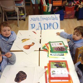 Los alumnos de 3 años nos hablan de setas y frutos del otoño.