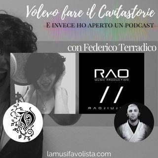 VOLEVO FARE IL CANTASTORIE - con Federico Terradico