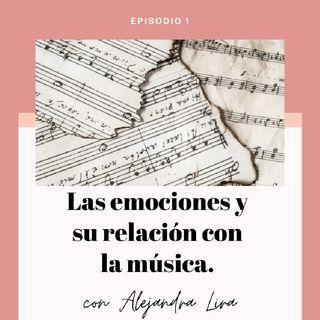 Las emociones y su relación con la música. 🎶🎭