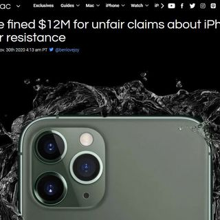 Are iPhone Water Resistance Claims Unfair? | TWiT Bits