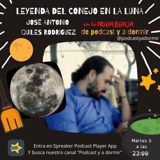Leyenda del conejo en la luna.  José Antonio Quiles Rodríguez