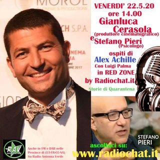 Gianluca Cerasola e Stefano Pieri ospiti di Alex Achille in RED ZONE by Radiochat.it