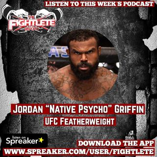 "UFC Fight Night Milwaukee Jordan ""The Native Psycho"" Griffin"