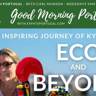 Kylie & Guy from 'Eco and Beyond' on The Good Morning Portugal! Show