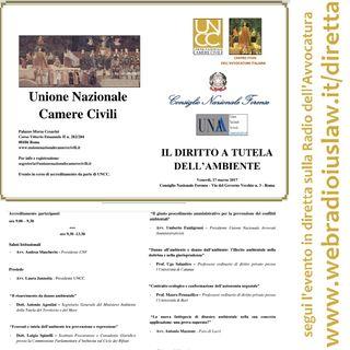 #iVostriEventi: IL DIRITTO A TUTELA DELL'AMBIENTE (UNCC - Roma, 17 Marzo 2017)
