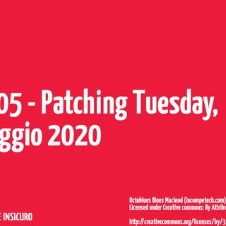 Patching Tuesday maggio 2020