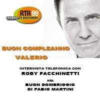 Roby Facchinetti saluta Valerio Negrini