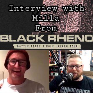 Milla from BLACK RHENO is 'Battle Ready'