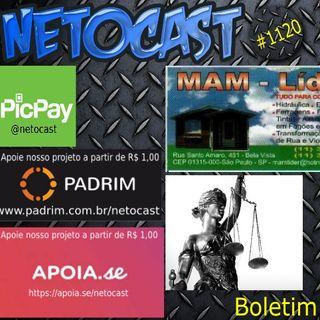NETOCAST 1120 DE 25/02/2019 - BOLETIM DE DIREITO