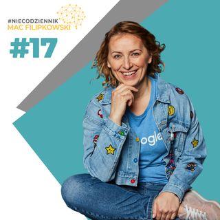 #NIECODZIENNIK-bycie przedsiębiorcą pracując na pełen etat w korporacji-Magdalena Dziewguć