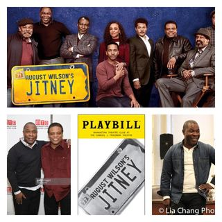 "The cast of August Wilson's ""Jitney"""