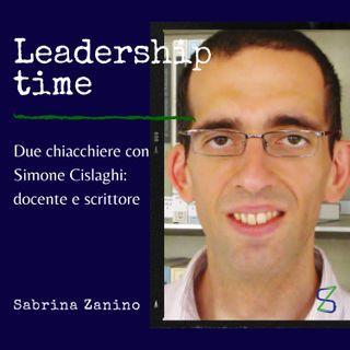Due chiacchiere con Simone Cislaghi, docente di filosofia e saggista