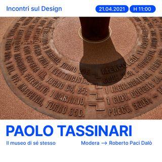 Incontri sul Design - Paolo Tassinari