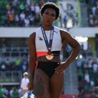 Olympian Gwen Berry Causes Backlash Over Peaceful Protest.