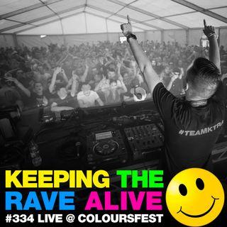 Episode 334: Kutski live at Coloursfest!