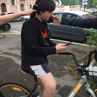 #roma BikeSharing e le Bike rubbbate!