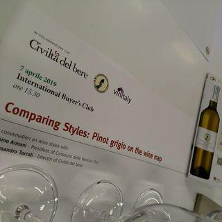 Stile Italiano, l'anima del Pinot Grigio delle Venezie presentata a Vinitaly