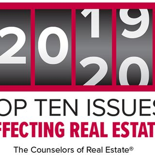 Top Ten Issues Affecting Real Estate Part 1