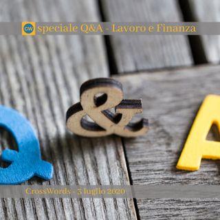 Speciale Q&A - Lavoro e Finanza