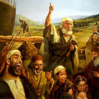 As in the days of Noah, so it is today
