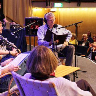 Göran Everdahl, Cecilia Hagen och Jonas Hallberg spanade från Humorfestivalen i Lund