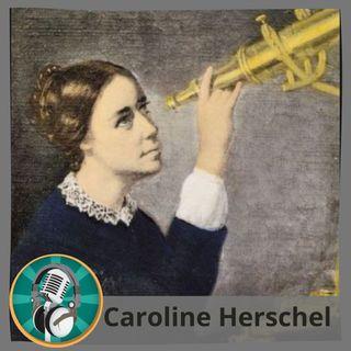 Olivia Iroghama con Caroline Herschel