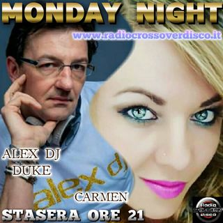 MONDAY NIGHT  CON ALEX DJ DUKE