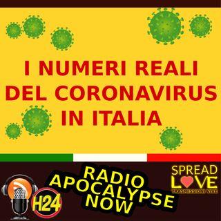 I numeri reali del coronavirus in Italia (aggiornati al 20 marzo 2020)