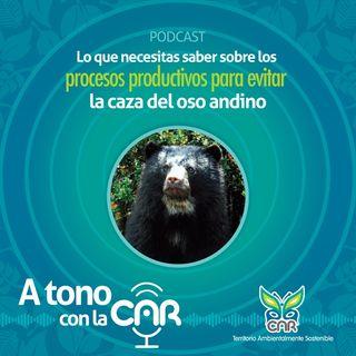 Procesos productivos para evitar la caza del oso andino
