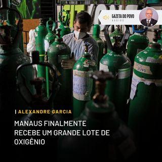 Manaus finalmente recebe um grande lote de oxigênio