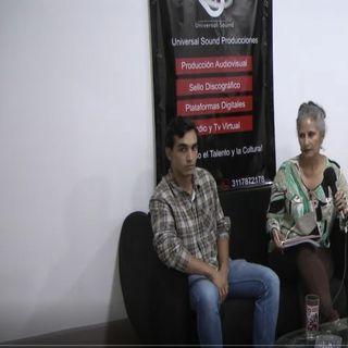 ENTREVISTA AL ESTUDIANTE DE DERECHO CARLOS FLOREZ 1 PARTE