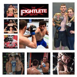 Fightlete Report Podcast October 3rd W #UFC216 Lightweight Beneil Dariush, UFC Featherweight Kurt Holobraugh