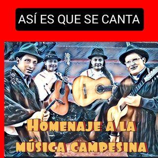 Homenaje a la música campesina