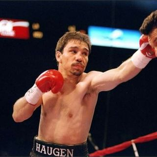 Boxing Legends Show: Former Lightweight Champion Greg Haugen