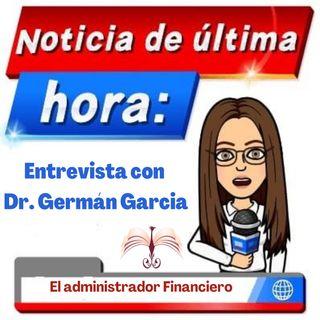 El administrador financiero y no contable entrevista Dr. German Garcia
