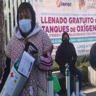 Abrirán más centros de recarga gratuita de tanques de oxígeno