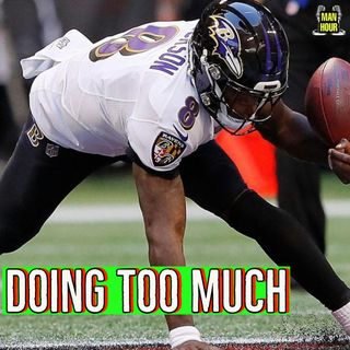 Lamar Jackson can not Carry at Team