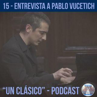 "15 - ""Entrevista a Pablo Vucetich"""