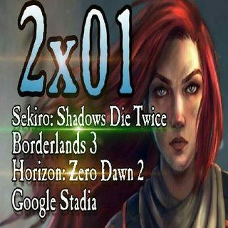 Legión Gamer España 2x01 - Sekiro, Borderlands 3, Horizon: Zero Dawn 2 y Google Stadia