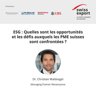 ESG: Quelles ont les opportunités et les défis auxquels les PMEs suisses sont confrontées?