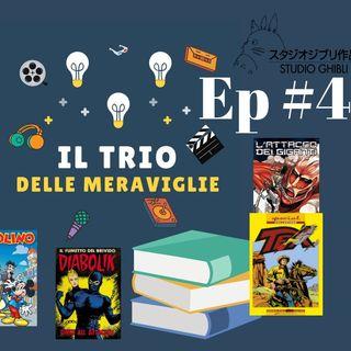 Ep 4 - Libri e fumetti