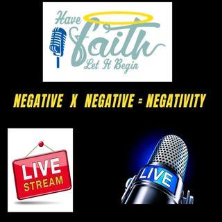 Negative×Negative=Negativity