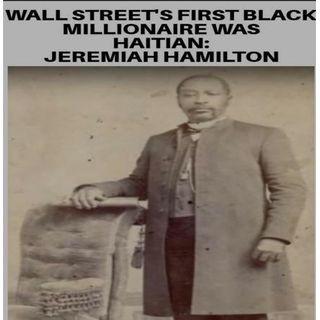 Jeremiah Hamilton - Wall Streets 1st: 619-768-2945