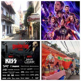 Domination Fest, Chambacú, Champions League, Pelea del Canelo