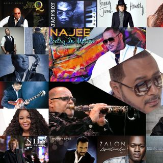 Smooth Jazz Mix (feat. Najee) Celebrating 31 Years in Music  🎷