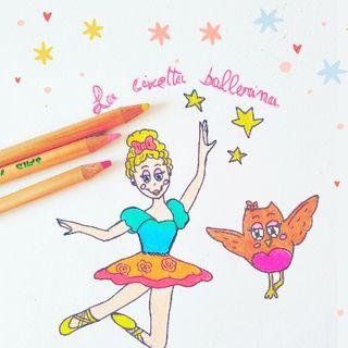 Fiaba della civetta ballerina - Fiabe della buonanotte