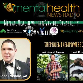 Mental Health within Visible Disability Communities: Advocate Jose Rosario