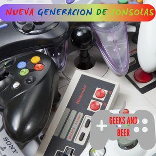 # Geeks And beers - Nueva generación de consolas pt2
