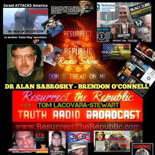 DR ALAN SABROSKY - BRENDON O'CONNELL with Tom Lacovara-Stewart - 9/11 to Talpiot